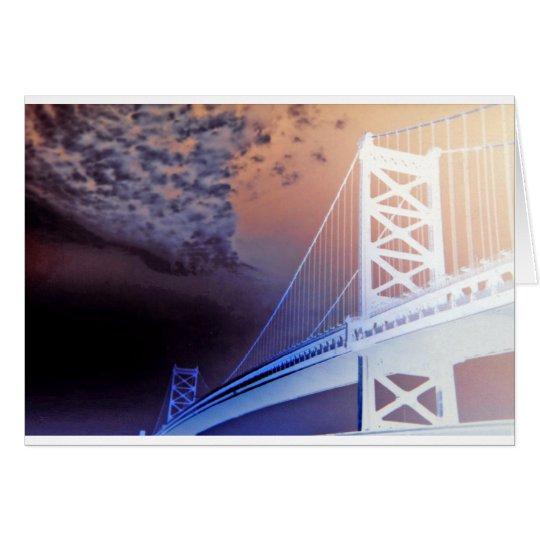 Ghost Bridge Card