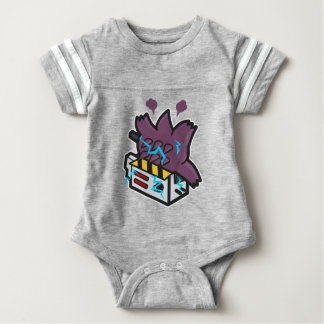 Ghost Busted Baby Bodysuit