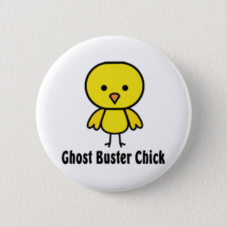 Ghost Buster Chick 2 Inch Round Button