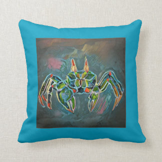 Ghost Crab 2 Throw Pillow