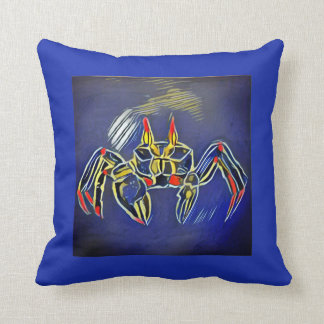 Ghost Crab 4 Throw Pillow