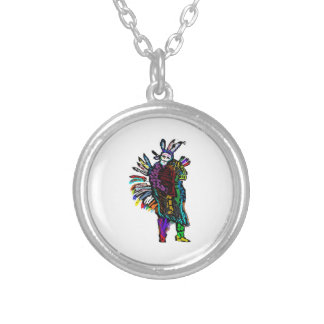 Ghost Dance Silver Plated Necklace