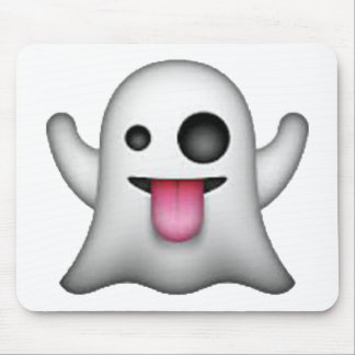 Ghost - Emoji Mouse Pad