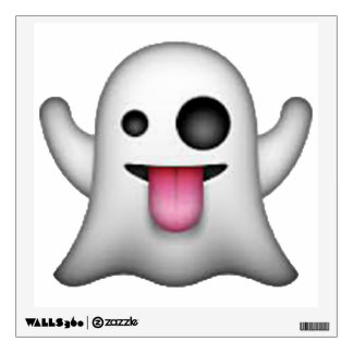 Ghost - Emoji Wall Sticker