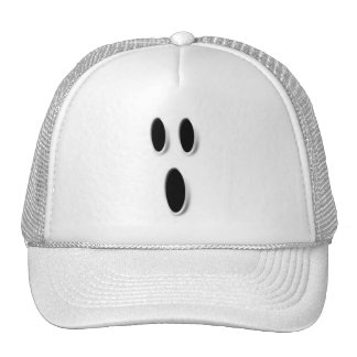 Ghost Face Halloween Hat