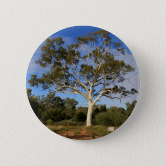 Ghost gum tree, Outback Australia 2 Inch Round Button