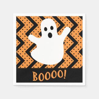 Ghost Halloween Paper Napkin