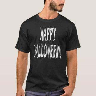 Ghost Halloween Text T-Shirt