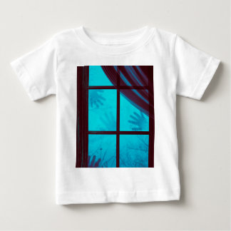 Ghost Hands on Window Baby T-Shirt