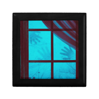 Ghost Hands on Window Gift Box