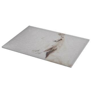 Ghost Horse Cutting Board