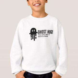 Ghost Hug Is Real Halloween Design Sweatshirt