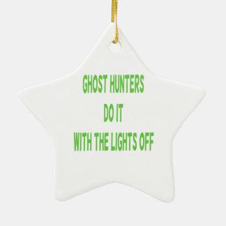 Ghost Hunters Do It Ceramic Ornament