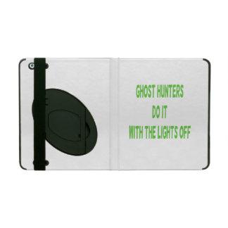 Ghost Hunters Do It iPad Case