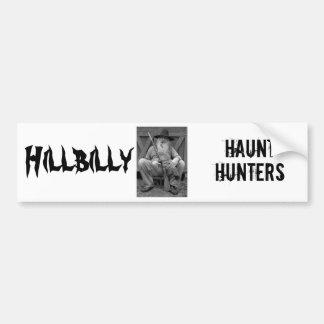 Ghost hunting bumper sticker