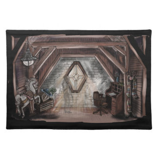 Ghost in the Attic Placemat