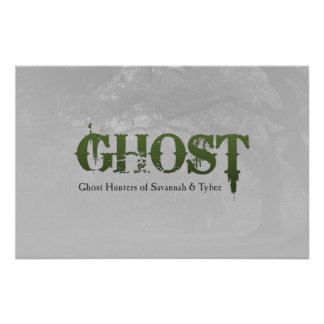 GHOST Logo Poster