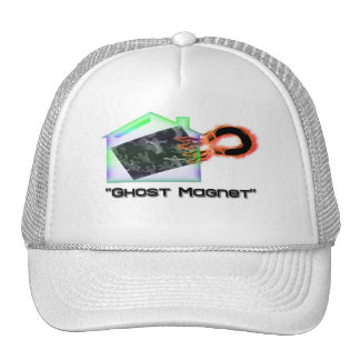 """Ghost Magnet"" Trucker Hat"