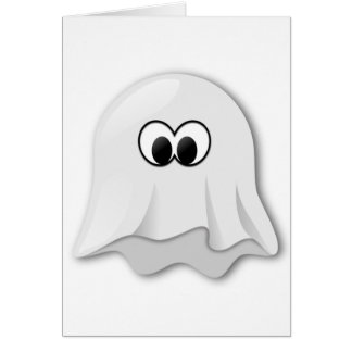 Ghost Motif on quality products for everyone Card