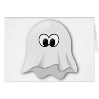 Ghost Motif on quality products for everyone Greeting Card