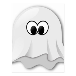 Ghost Motif on quality products for everyone Postcard