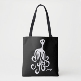 Ghost Octopus Tote