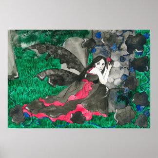 Ghost of a rose Art Print