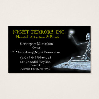 Ghost of a Rose Business Card