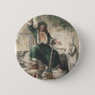 Ghost of Christmas Present 2 Inch Round Button