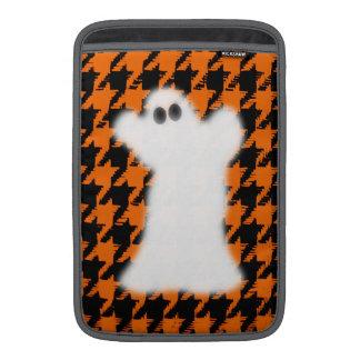 Ghost On Halloween Houndstooth Sleeves For MacBook Air