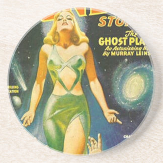 Ghost Planet Drink Coasters