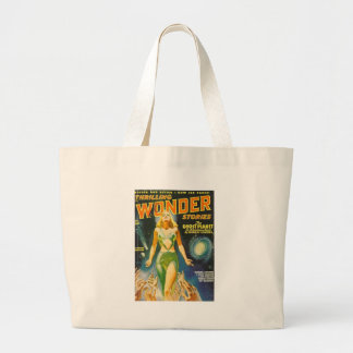 Ghost Planet Large Tote Bag