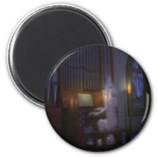 Ghost Playing Organ Magnet