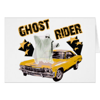 Ghost Ride The Whip Greeting Card