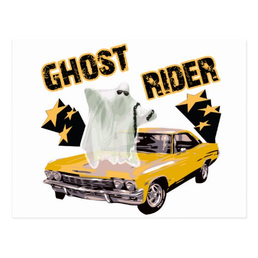 Ghost Ride The Whip Post Cards