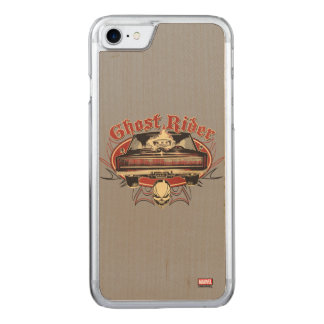 Ghost Rider Badge Carved iPhone 8/7 Case