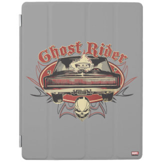 Ghost Rider Badge iPad Cover