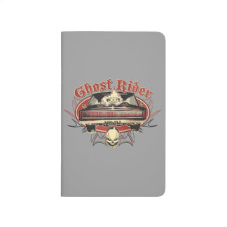 Ghost Rider Badge Journal