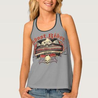 Ghost Rider Badge Tank Top