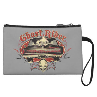 Ghost Rider Badge Wristlet Clutch