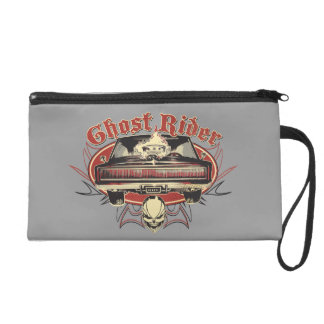 Ghost Rider Badge Wristlet Purse