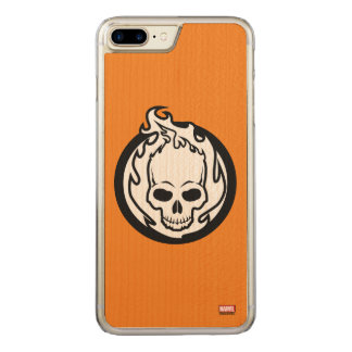 Ghost Rider Icon Carved iPhone 8 Plus/7 Plus Case
