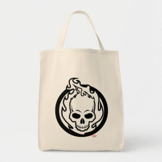 Ghost Rider Icon Tote Bag