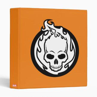 Ghost Rider Icon Vinyl Binder