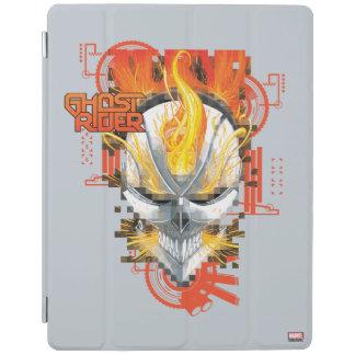 Ghost Rider Skull Badge iPad Cover