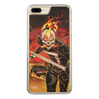 Ghost Rider With Knives Carved iPhone 8 Plus/7 Plus Case