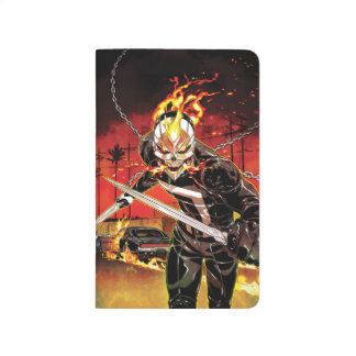 Ghost Rider With Knives Journal