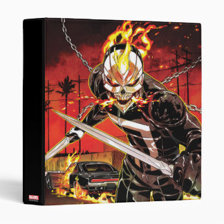 Ghost Rider With Knives Vinyl Binders