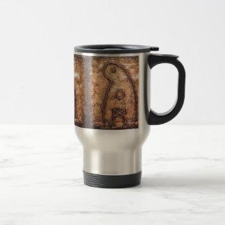 Ghost Rune Travel Mug