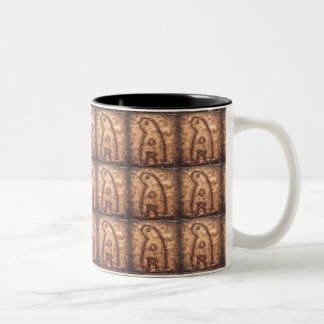 Ghost Rune Two-Tone Coffee Mug